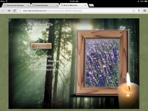 McKenzie Funeral Services Online Book of Memories Page